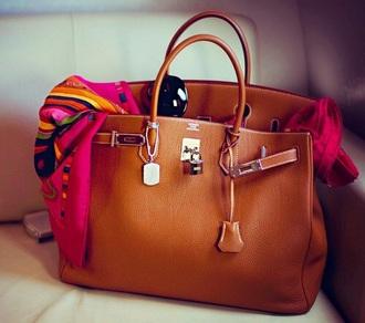 bag handbag tan