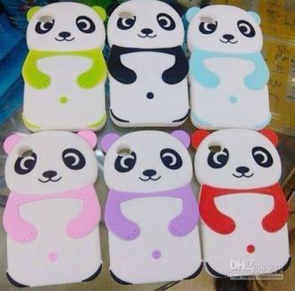phone cover iphone 5 case panda