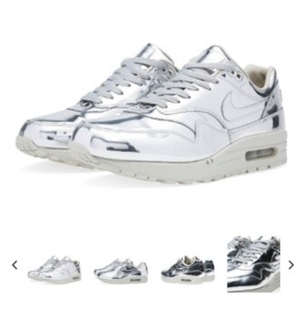 shoes nike metallic liquid feet metal air max