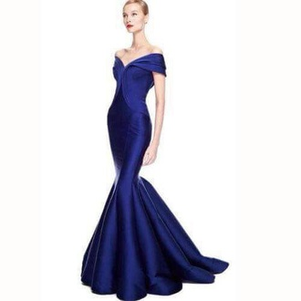 dress gown prom dress long prom dress long dress royal blue dress