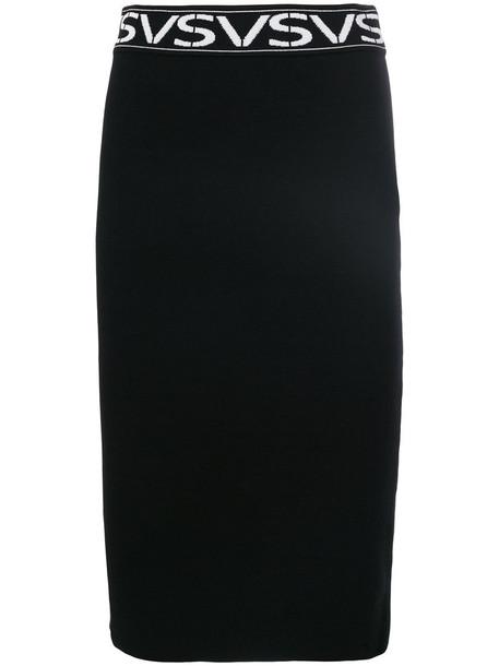 Versus skirt pencil skirt women black