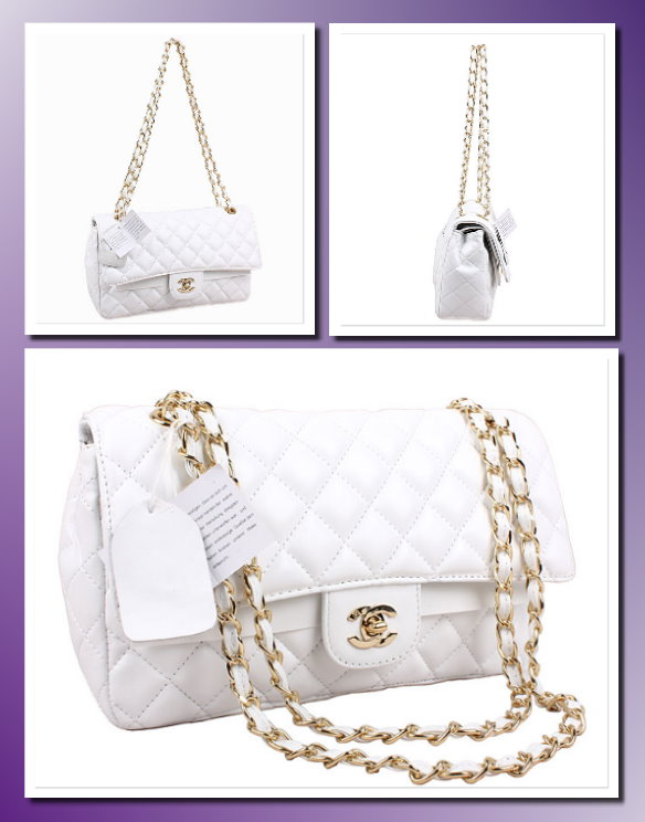 Chanel classic 2.55 quilted double flap handbag