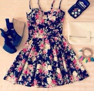 dress floral spring