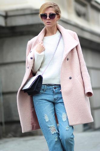 sirma markova coat sweater jeans bag shoes jewels sunglasses