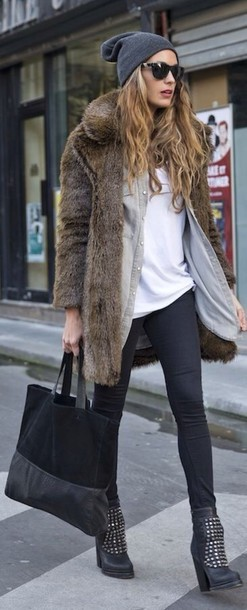 shoes boots sunglasses cardigan bag jacket