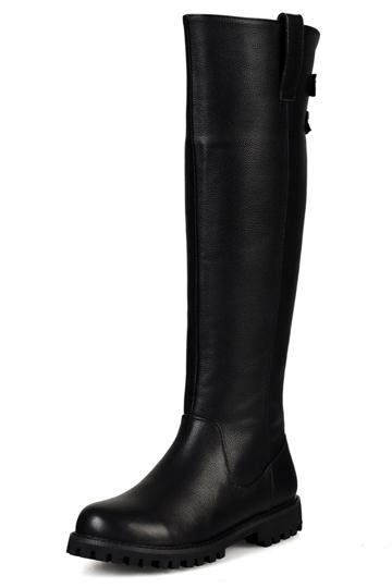 Personality Knee High Biker Boots [FABI1394]- US$116.99 - PersunMall.com