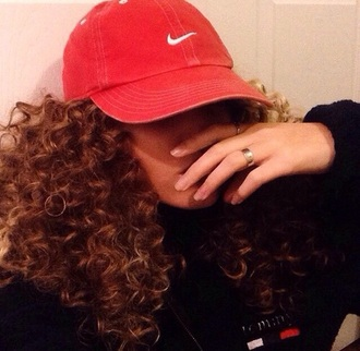 hat red hats nike hat nike