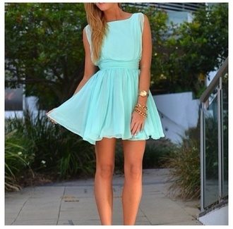 dress light blue summer dress mini dress cute cute dress turquoise peasant dress tiffany blue