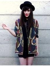 cardigan,embroidered,jacket,colorful,beautiful,hat,embellished jacket
