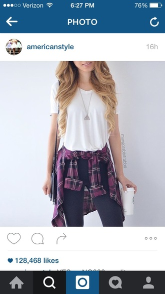 pants jeans blue white top outfit cute purple skinny jeans blue jeans white top outfit idea flaneel cute outfits grunge grunge t-shirt flannel shirt flannel purple top