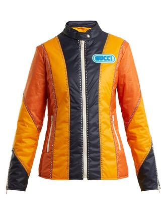 jacket long orange