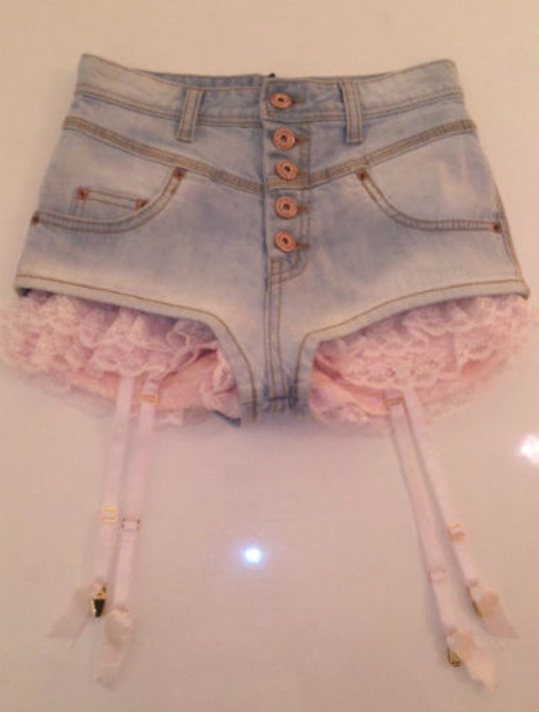 lace Short Jeans g FE CLOTHING g Online Store Powered by Storenvy