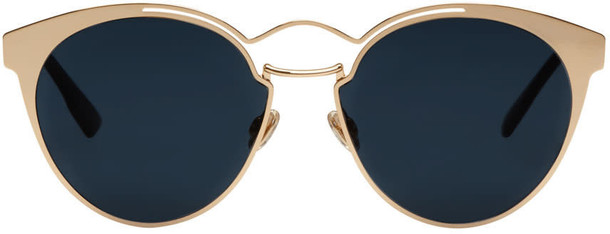 dior rose gold rose sunglasses gold