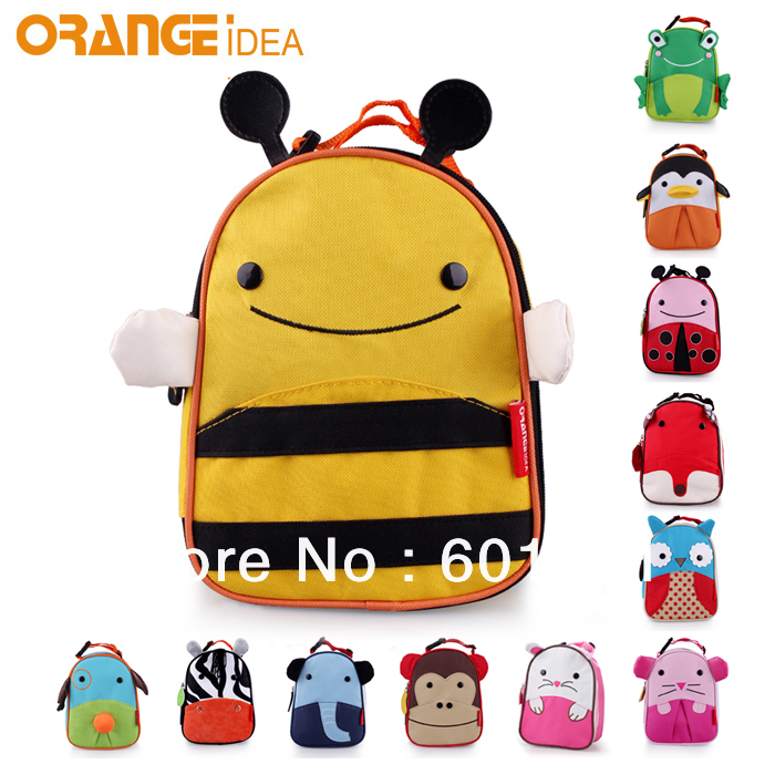 factory price wholesales /retails cute animal lunchbox backpack ...
