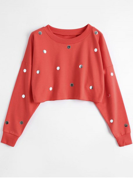 sweater red long sleeves fall outfits