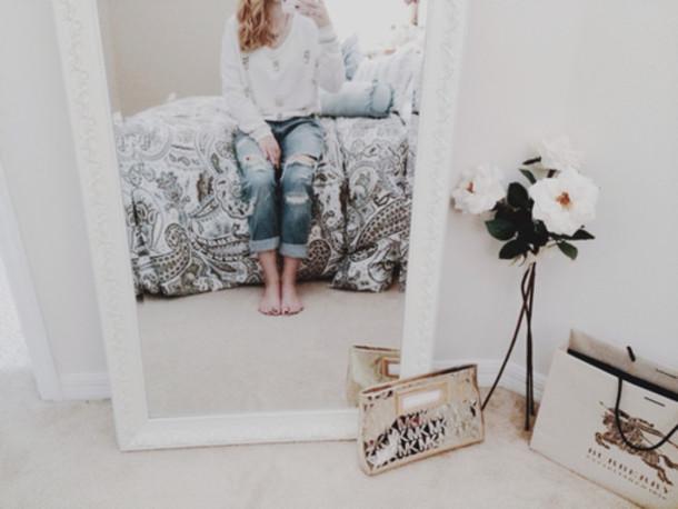 jeans bedroom underwear jewels