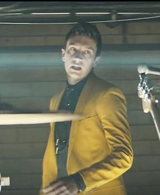 jacket tyler joseph mustard yellow blazer heathens music video mens blazer