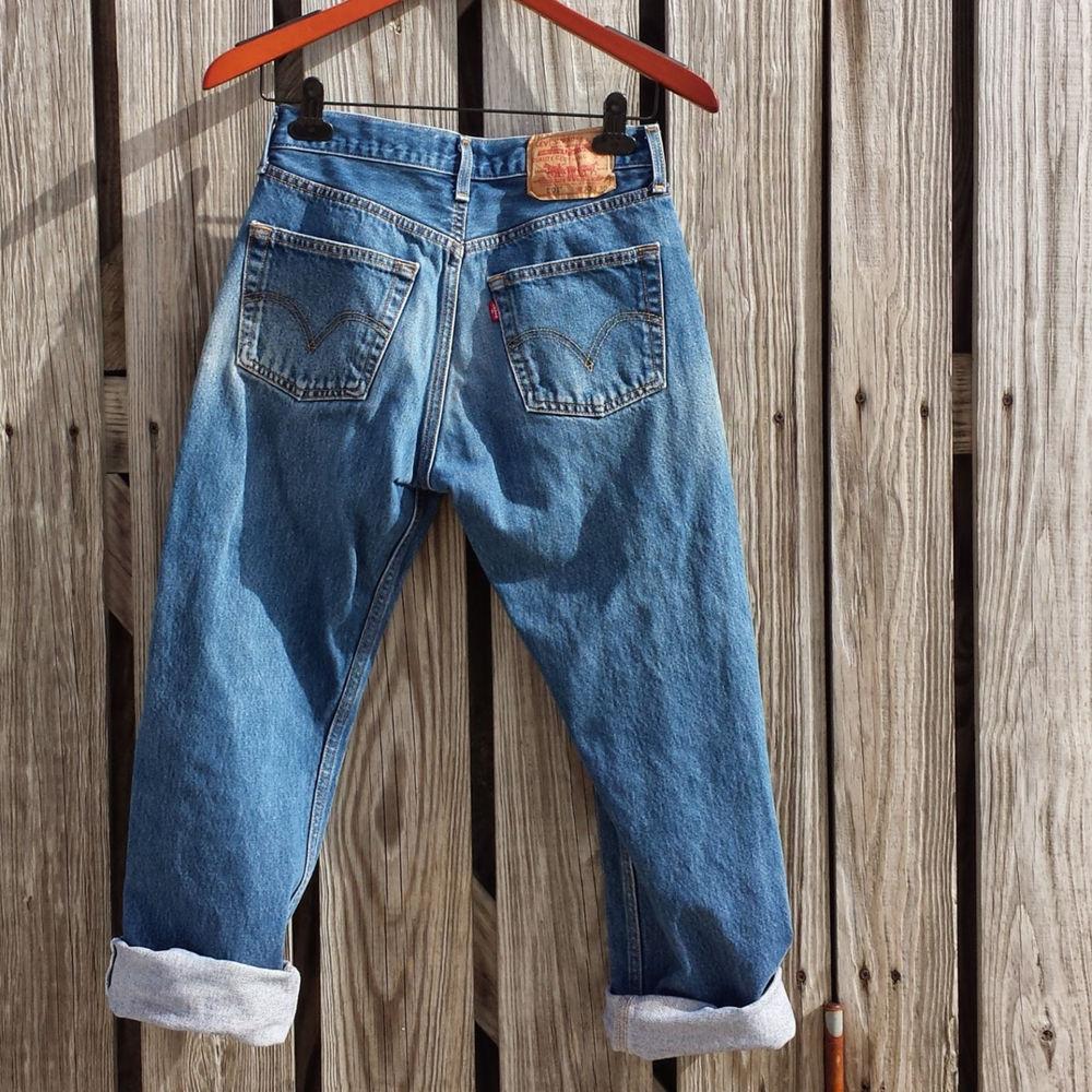 vintage levi 39 s 501 jeans high waisted jeans size levi 30 x. Black Bedroom Furniture Sets. Home Design Ideas