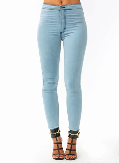 So-Much-Stretch-Skinny-Jeans LTBLUE - GoJane.com