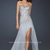 La Femme 17973 Silver Long Strapless Beaded Sweetheart Homecoming Dress with Front Slit Sale [La Femme 17973] - $185.00 : La Femme Homecoming Online Shop Offers Various of Dresses for You
