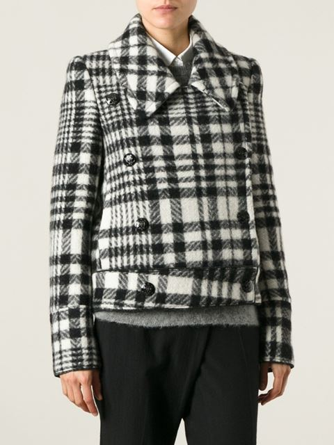 Stella mccartney checked jacket