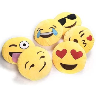 pajamas emoji pillow pillow holiday gift