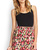 Fresh Floral Skater Skirt | FOREVER21 - 2000107548