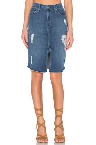 skirt slit skirt front slit skirt slit forever blue