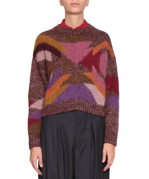 Isabel Marant sweater wool sweater wool multicolor