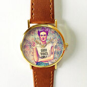 jewels,watch,handmade,style,fashion,vintage,etsy,freeformes,freeforme,summer,spring,gift ideas,new,love,hot,trendy,fall outfits,frida,kahlo,frida kahlo,good vibes only