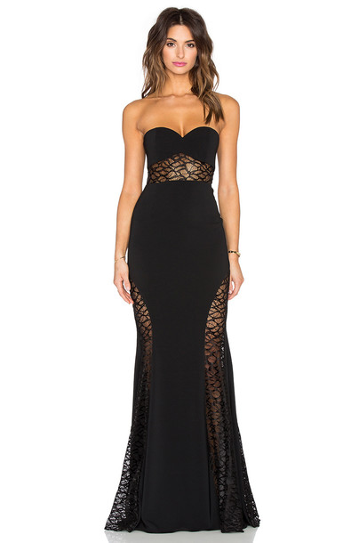 JAY GODFREY dress maxi dress maxi black