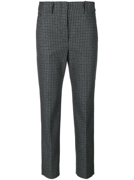 INCOTEX metallic women grey pants