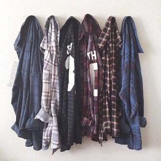 shirt outfit made top plaid blouse 28719