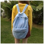 bag,itgirl shop,kfashion,korean fashion,fashion,tumblr,southkorean,ulzzang,streetstyle,aesthetic,clothes,apparel,kawaii,cute,women,indie,grunge,pastel,kawaiifashion,pale,style,online,kawaiishop,freeshipping,free,shipping,worldwide,palegoth,soft grunge,softgoth,minimalist,inspiration,outfit,itgirlclothing,backpack,denim backpack,jeans backpack,american apparel backpack,school bag
