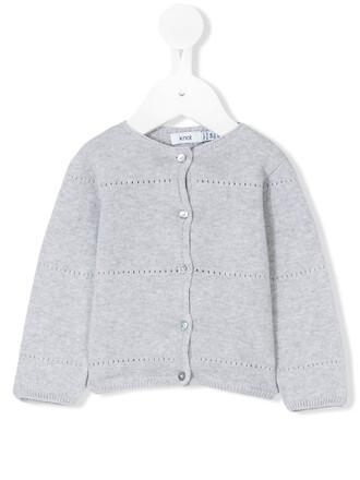 cardigan cotton grey sweater