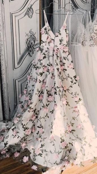 dress floral overlay dress with v neck