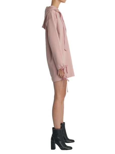 Moschino dress sweatshirt dress pink