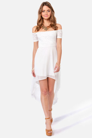 Sexy White Dress - Off-the-Shoulder Dress - $41.00 ($41.00) - Svpply