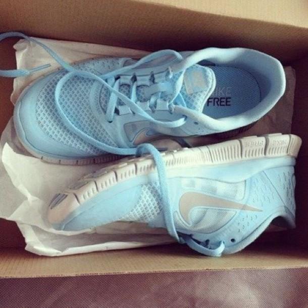 baby blue free runs