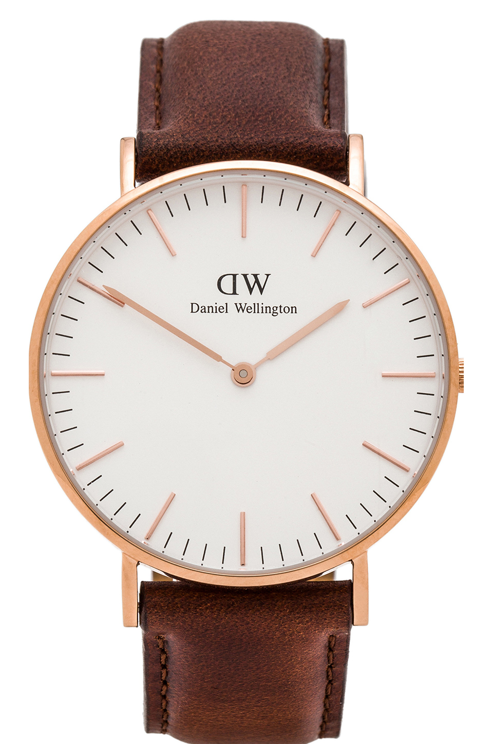 Daniel wellington classic st. andrews lady 36mm in rose gold from revolveclothing.com