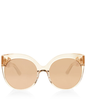 rose sunglasses grid nude