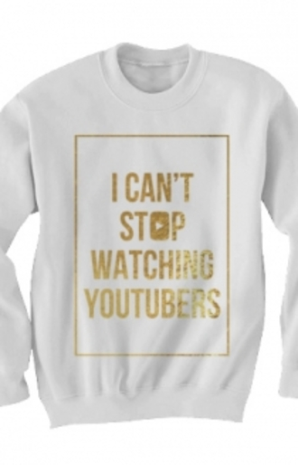 youtubera youtuber pullover