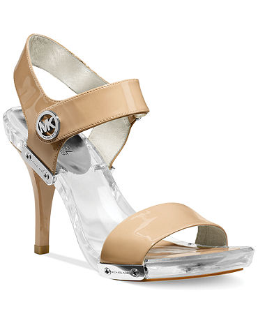 MICHAEL Michael Kors Lani Platform Sandals - Plus Sizes - Macy's