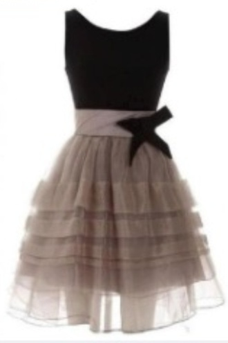 dress little black dress lacy dress tan dress bow dress