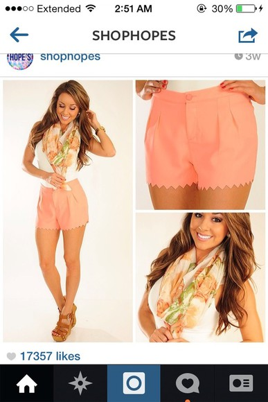 shorts pink shorts pretty shoes zig zag high-waisted shorts