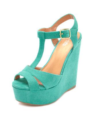 Strap wedge sandal