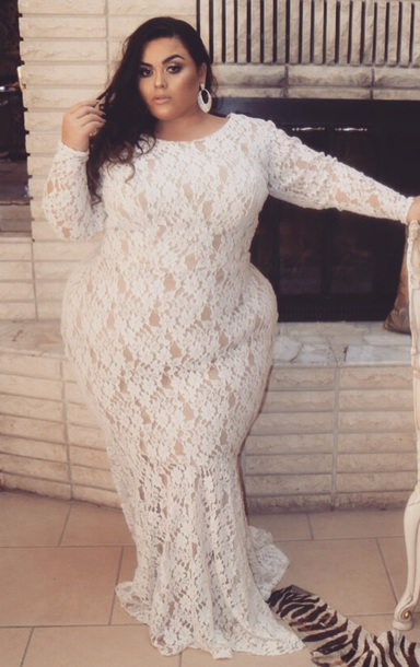 dress white lace long sleeve