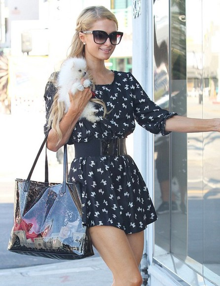 dress paris hilton short dress