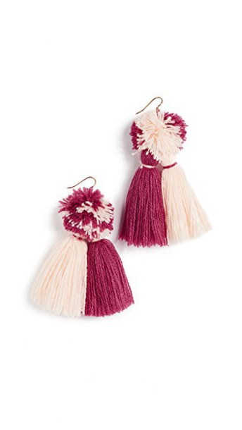 tassel earrings jewels