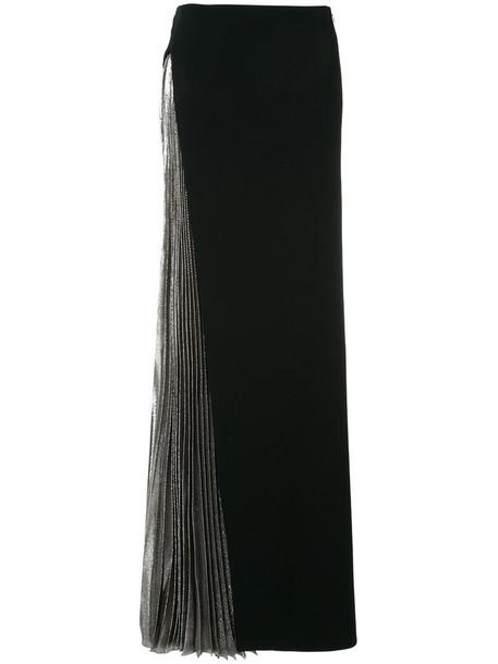 MUGLER skirt pleated women spandex black